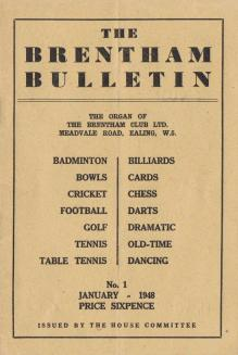 The Brentham Bulletin